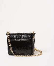 Small Rebel leather shoulder bag Black Woman 201TO823T-04
