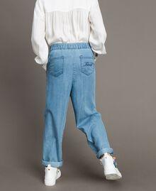 Pantalon en denim souple Jean Doux Enfant 191GJ2560-03