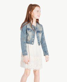 """Denim jacket """"Mid Denim"""" Blue Child GS82T1-02"""