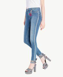 Skinny-Jeans Denimblau Frau JS82V2-02