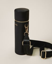 Technical satin water bottle set Black Woman 202TD8086-05