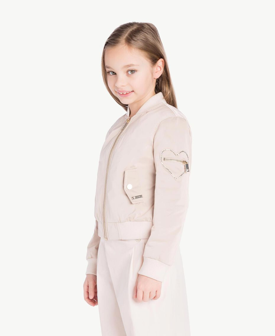 Duchess bomber jacket Bud Pink Child GS82VA-03