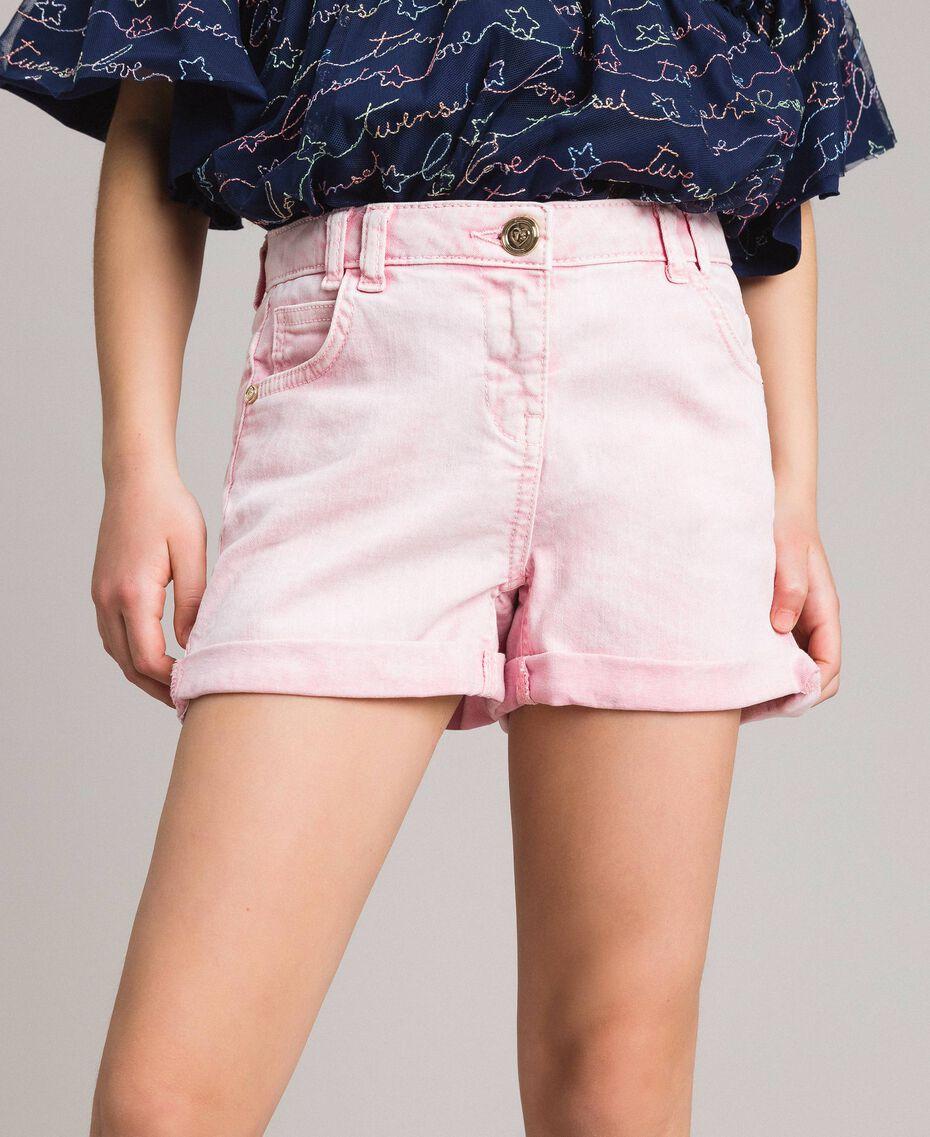"Délavé-Bull-Shorts ""Crystal Pink"" Kind 191GJ2491-0S"