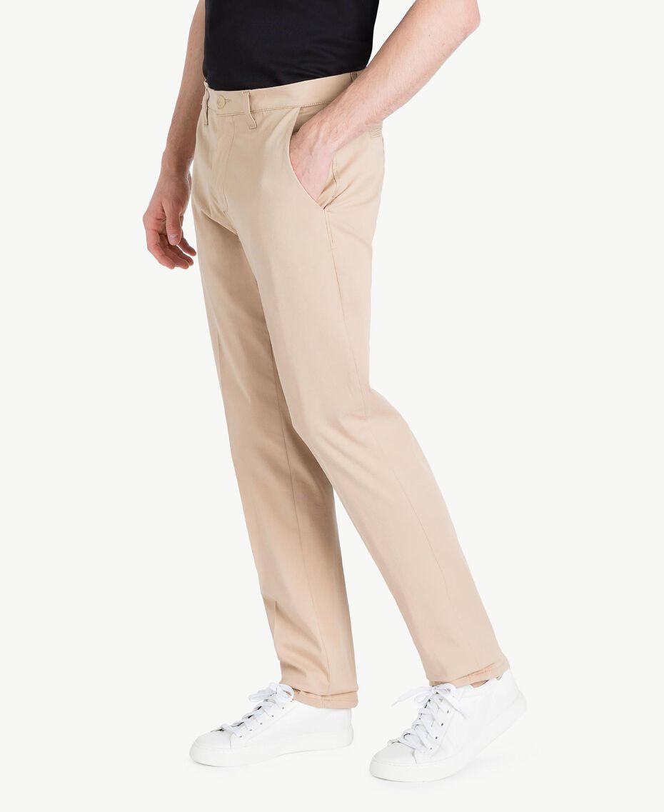 Chino pants Beige Porcelain Man US824N-02