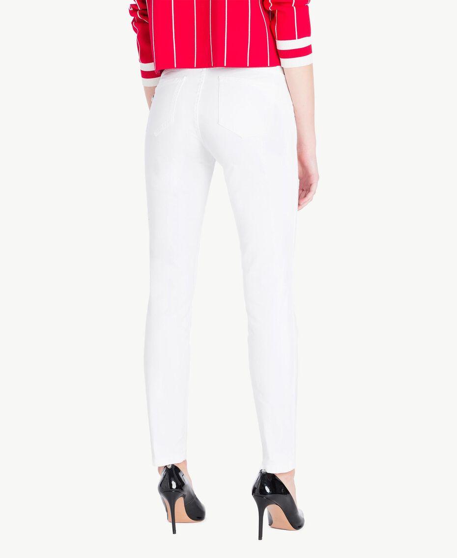 Pantalon skinny Blanc Femme JS82Z1-03