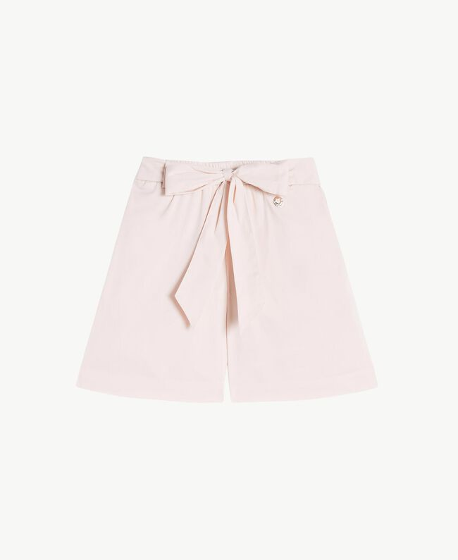 Poplin trouser skirt Bud Pink Child FS82QN-01