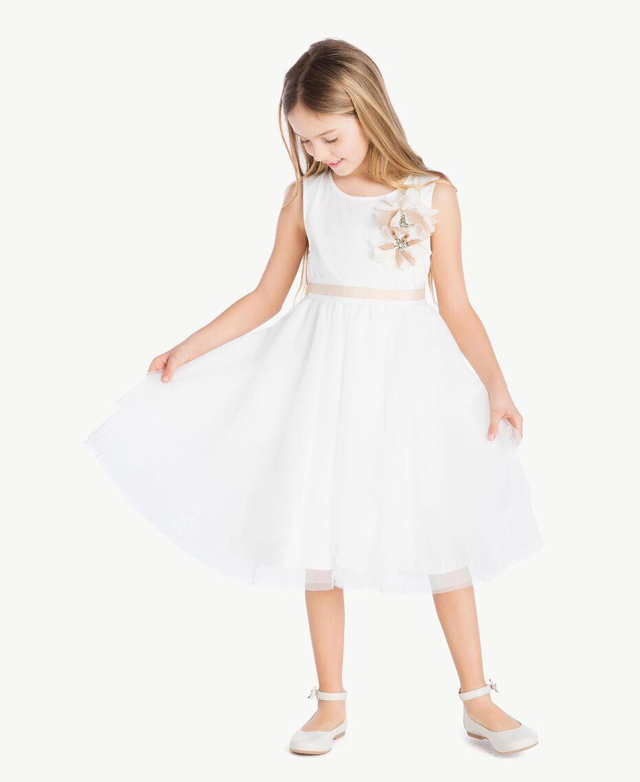 Robe tulle Chantilly Enfant GS8LDA-02