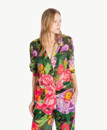 Printed shirt Summer Garden Print Woman TS8243-01