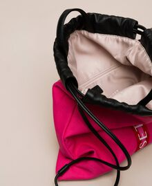 """Canvas sackpack with logo """"Jazz"""" Pink Woman 201TO8101-05"""