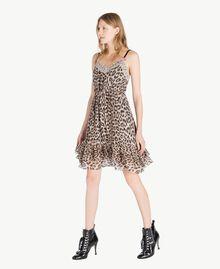 Robe motif animalier Imprimé Léopard Femme PS82VA-02