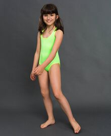 One-piece swimsuit Fluorescent Green / Fluorescent Yellow Child 191TQM026-0S