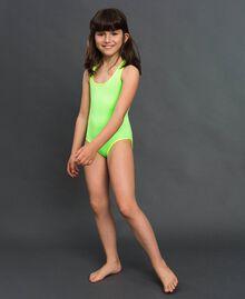Maillot une-pièce Vert Fluo / Jaune Fluo Enfant 191TQM026-0S