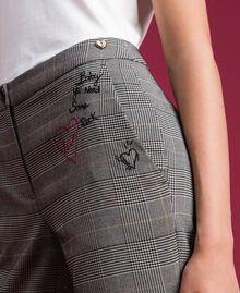 Pantaloni a sigaretta in principe di Galles Principe Di Galles Donna 192MP2285-06