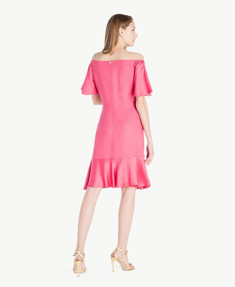 Envers satin dress Provocateur Pink Woman TS823K-03