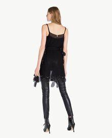 TWINSET Bottines vernies Noir Femme CS8PMN-06