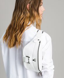 Rebel leather bum bag White Snow Woman 191TO8635-0T