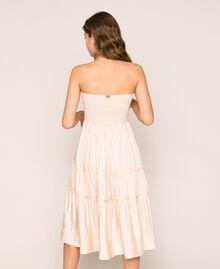 Robe-jupe avec volants Beige «Sun Kiss» Femme 201LB2BEE-05