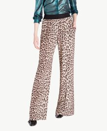 Animal print trousers Animal Print Woman PS82VC-01