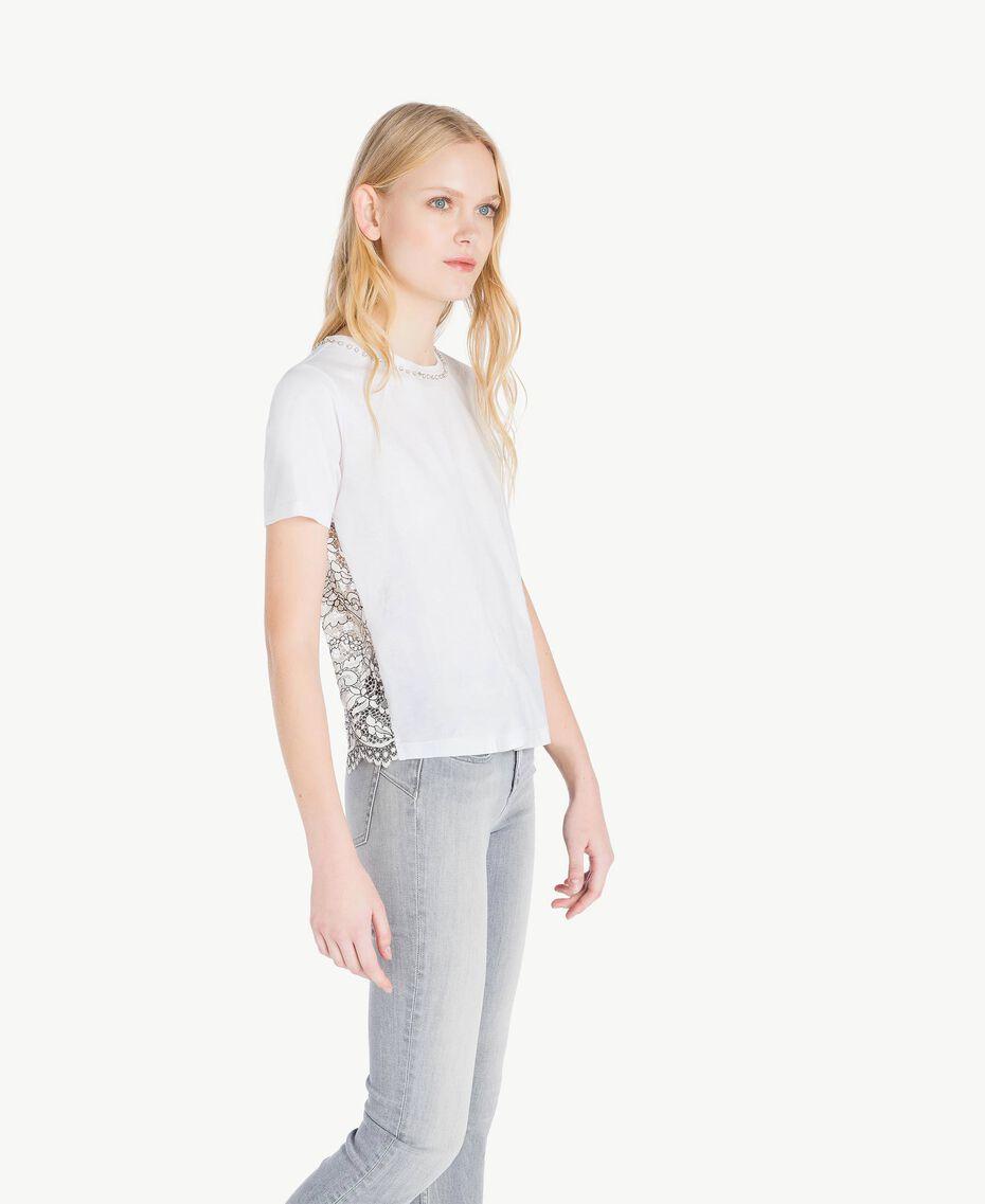 T-shirt perles Blanc Femme JS82RL-02