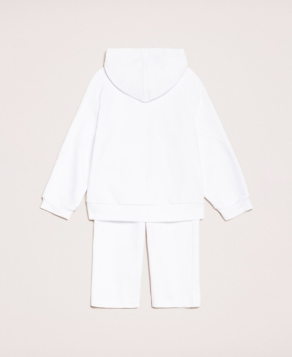 Толстовка с логотипом и укороченные брюки Принт Twinset Флуоресцентный / Розовый Светлый Pебенок 201GB2372-0S