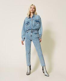 """Camicia in jeans Blu """"Denim Medio"""" Donna 212AP2391-02"""
