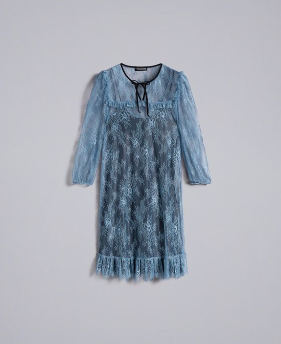 Valencienne lace dress