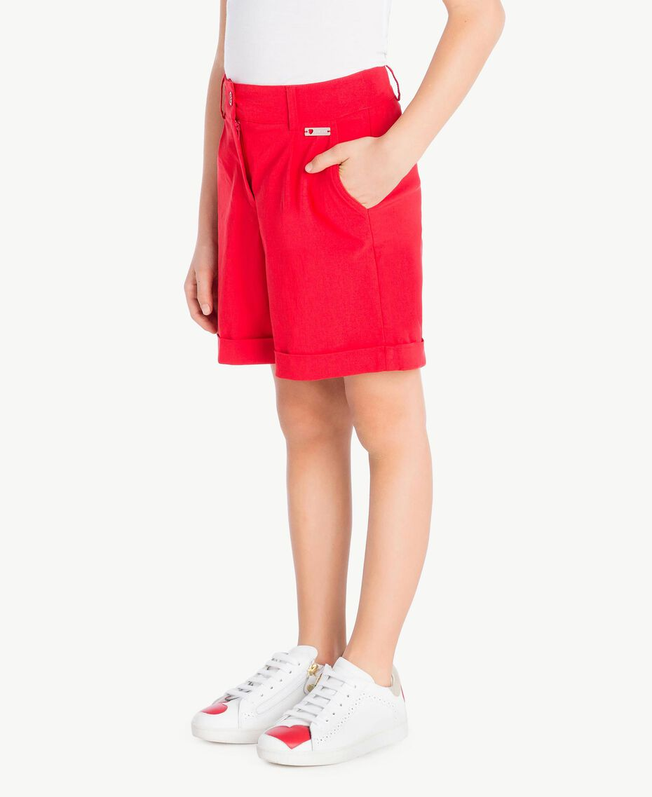 Cotton shorts Pomegranate Red Child GS82HN-03