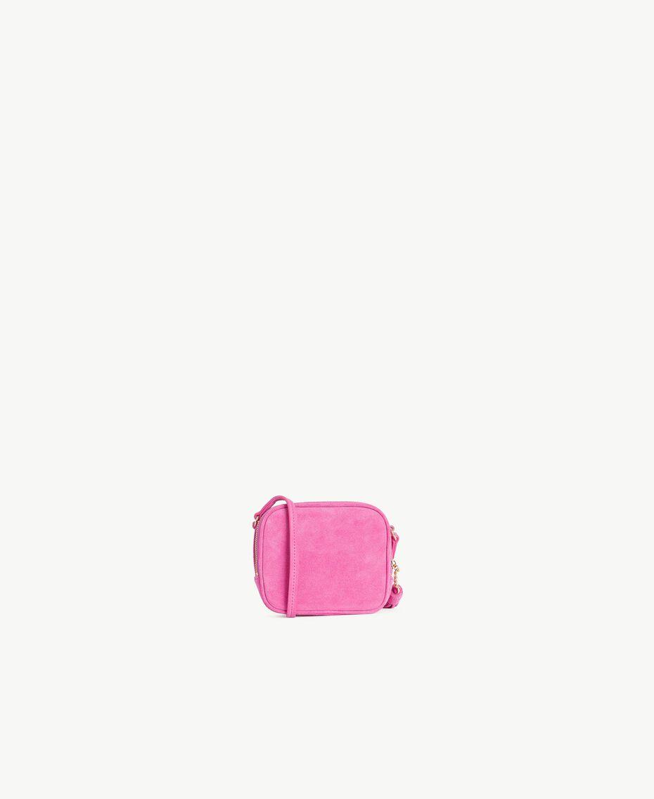 TWINSET Mini sac à bandoulière logo Pink Provocateur Femme OS8TEB-03