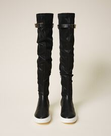 Trainer boots with logo Black Woman 202TCP038-05
