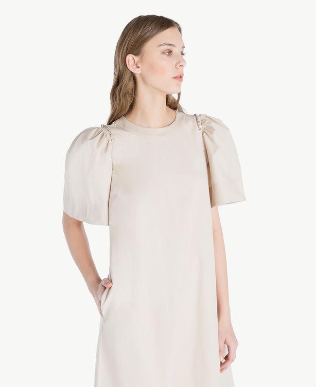 Langes Kleid aus Popeline Dune Frau TS821Q-04