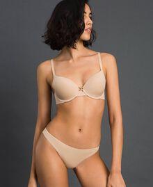 String avec nœud Rose Skin Femme LCNN88-02