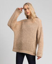 Maxi maglia in misto mohair Creme Caramel Donna 192MT3060-02