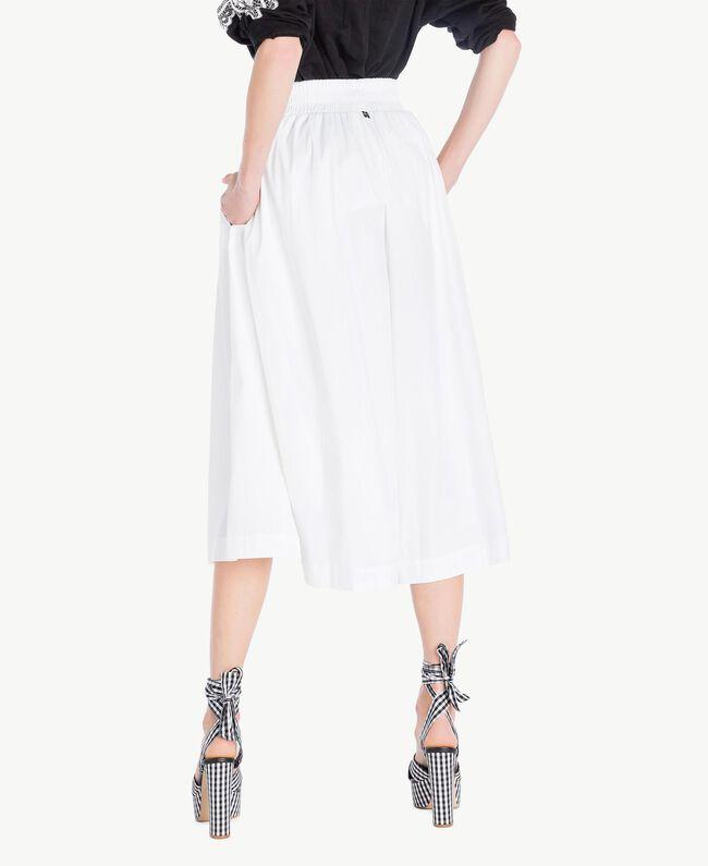 Jupe popeline Blanc Femme JS82DM-03