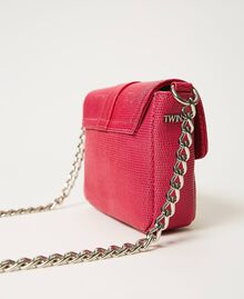 Small Rebel shoulder bag with jewel buckle Black Cherry Woman 202TB7140-05