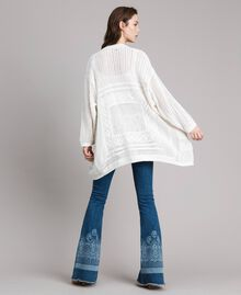 Openwork knitted cardigan Off White Woman 191ST3041-05