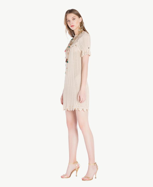 TWINSET Laminated sandals Platinum Woman CS8TAE-05