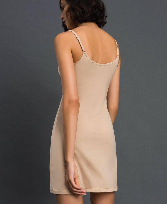 nuisette à bretelles fines Rose Skin Femme LCNNAA-03