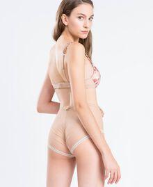 Floral print high-waist briefs Ballerina Pink Mixed Flower Print Woman IA8E99-03