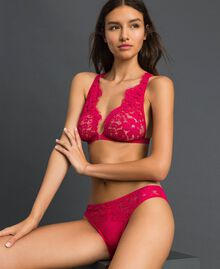 "Lace briefs ""Cherry Coke"" Fuchsia Woman 192LI6166-01"