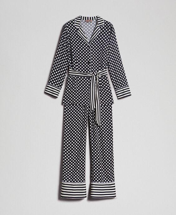 "Pyjama ""Tury x Twinset"" mit Tupfen"