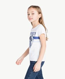 "T-shirt stampa Stampa ""Sweet"" Bambina GS82A2-03"