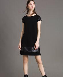 Sequin dress Black Woman 191LB22NN-02