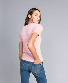 Maglia in fur knit con spille Rose Cloud Donna JA83GA-03