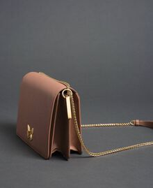 Large BEA leather shoulder bag Mousse Pink Woman 192TA7020-04