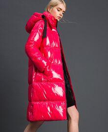 Steppmantel in Lackoptik Pink Gloss Frau 192MT2071-03