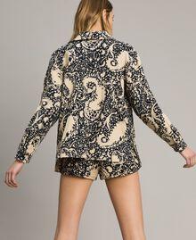 Matelassé cotton print shirt Stamped Print Woman 191TT2190-03