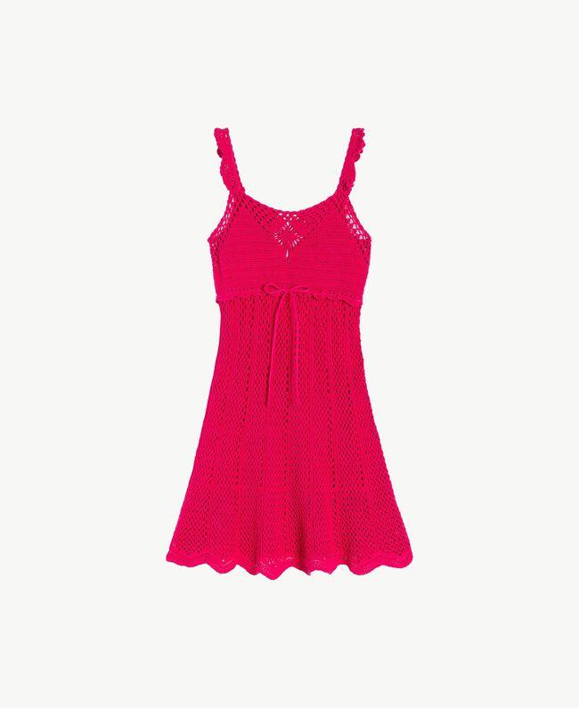 Robe crochet Rose «Voluptueux» Femme MS8HBB-01
