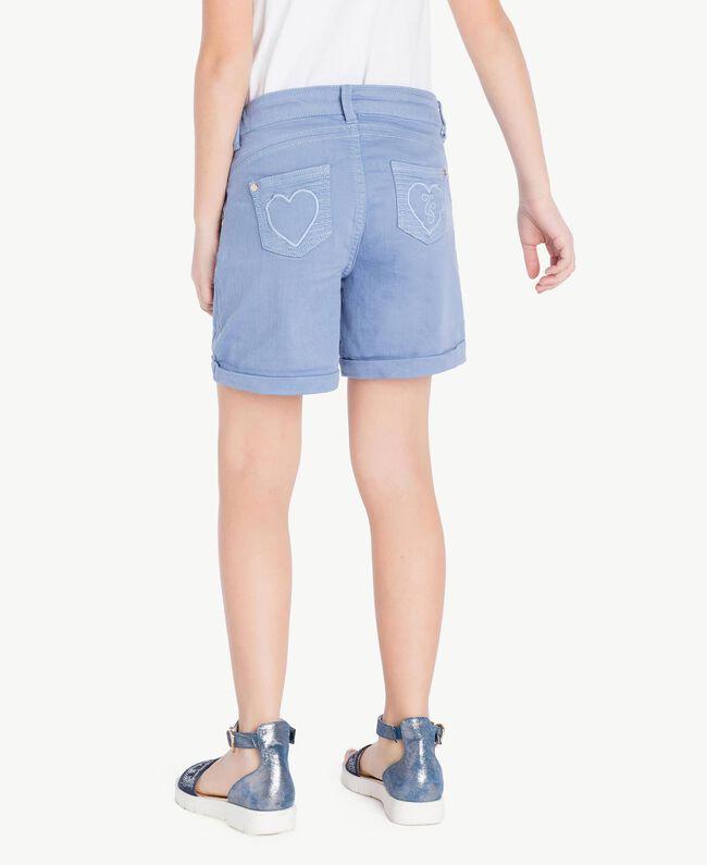Short coton Bleu Infini Enfant GS82CQ-04