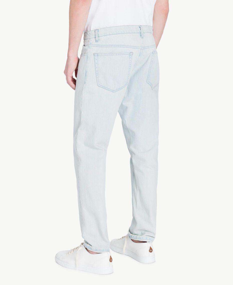 Jean cinq poches Bleu Denim Homme US82BP-03