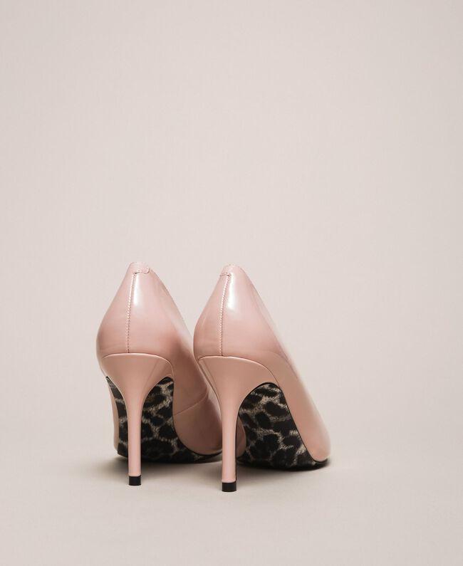 Patent leather court shoes Quartz Pink Woman 201MCP01L-04